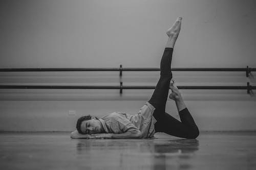 Imagine de stoc gratuită din alb-negru, aptitudine, dans, dansatoare