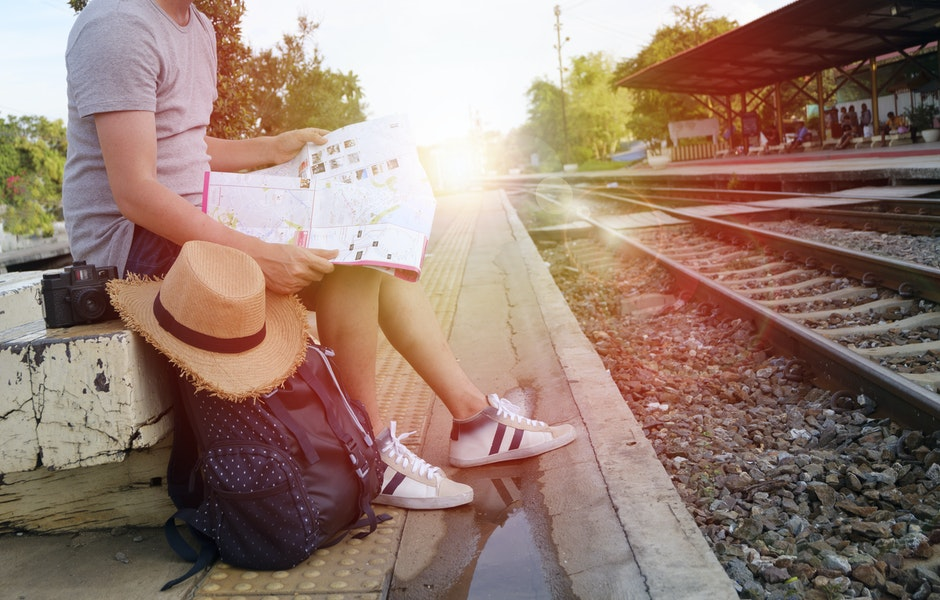 backpack, bag, blur