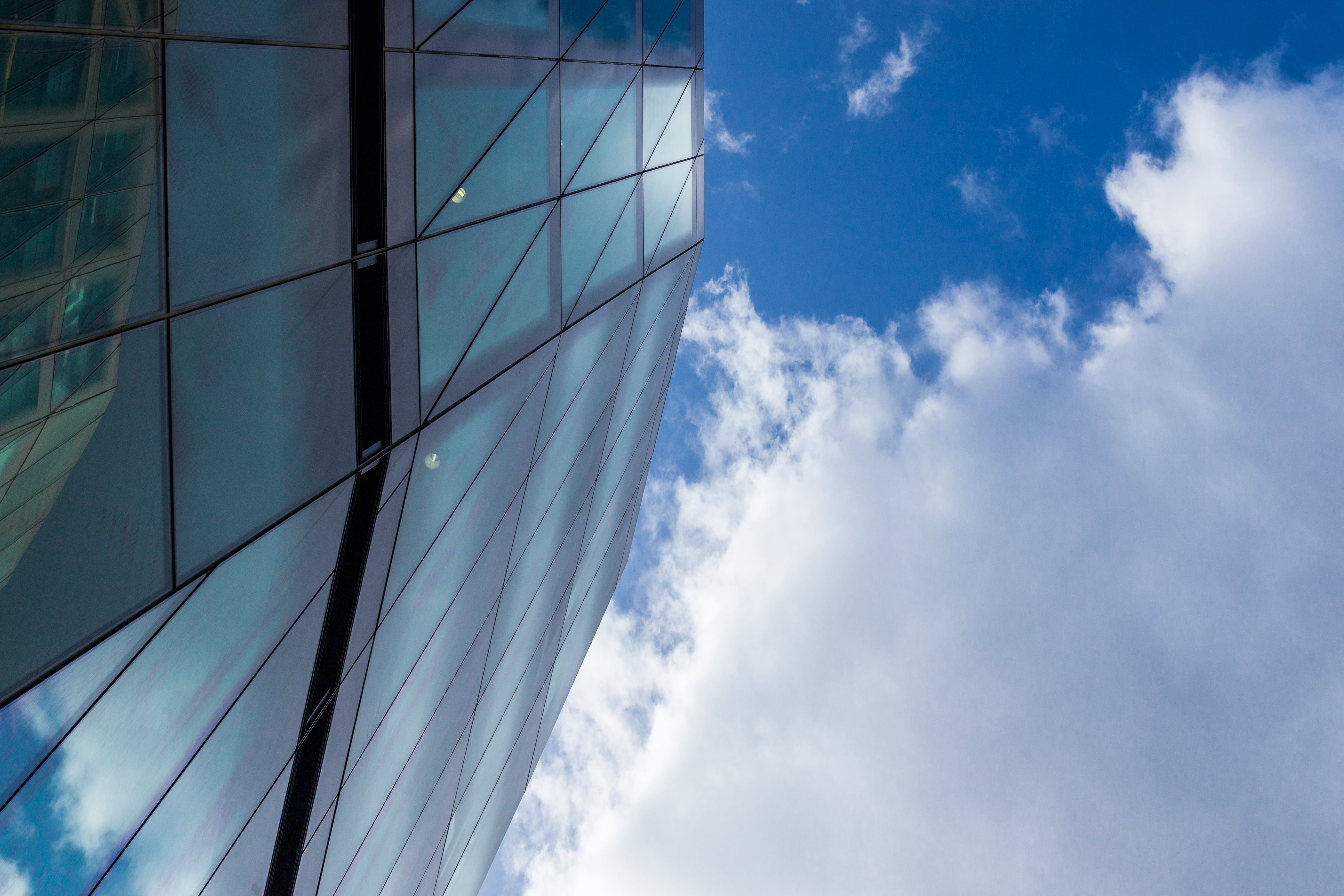 Free stock photo of glass, architecture, windows, lines