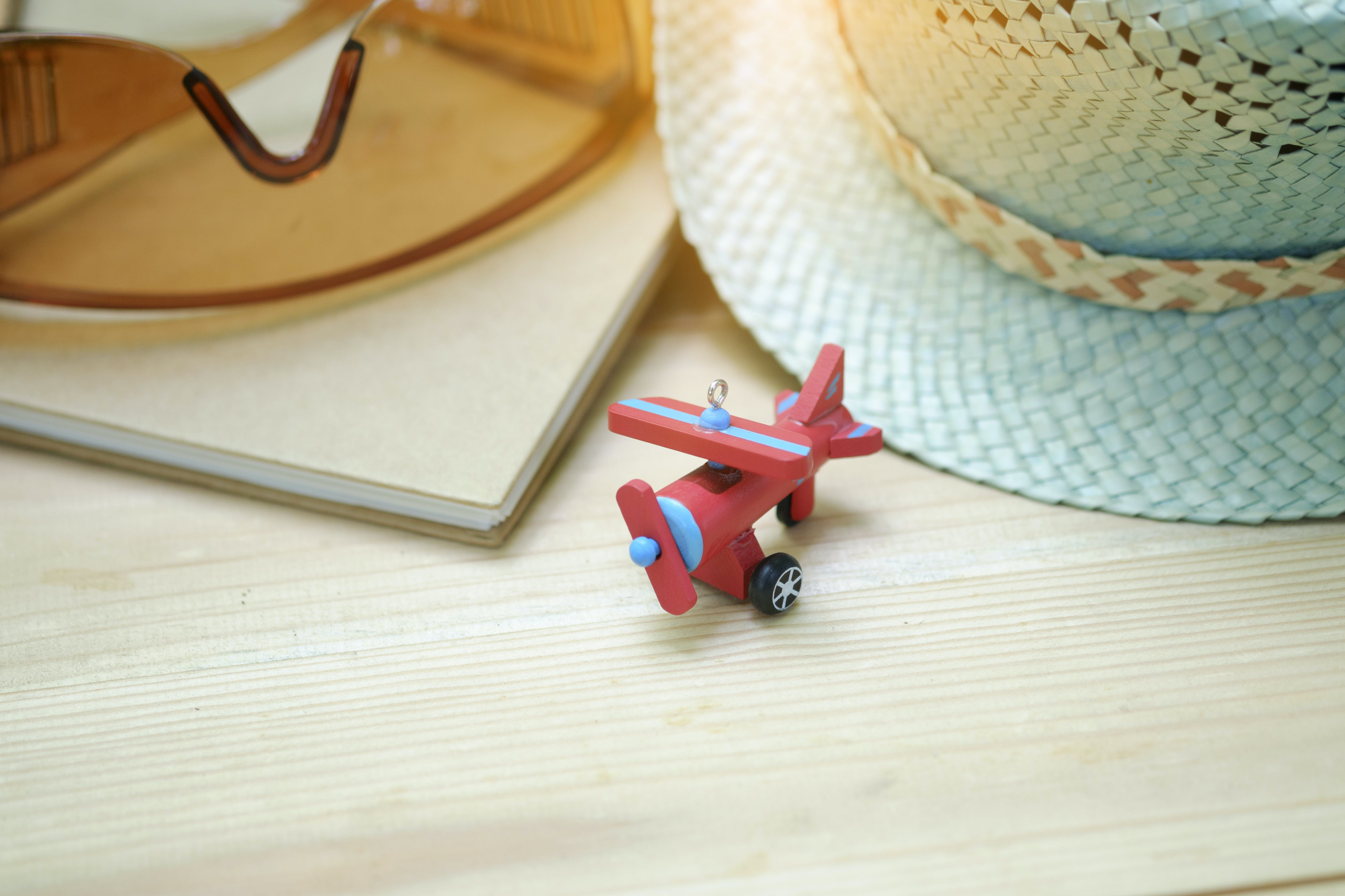 Red Airplane Toy