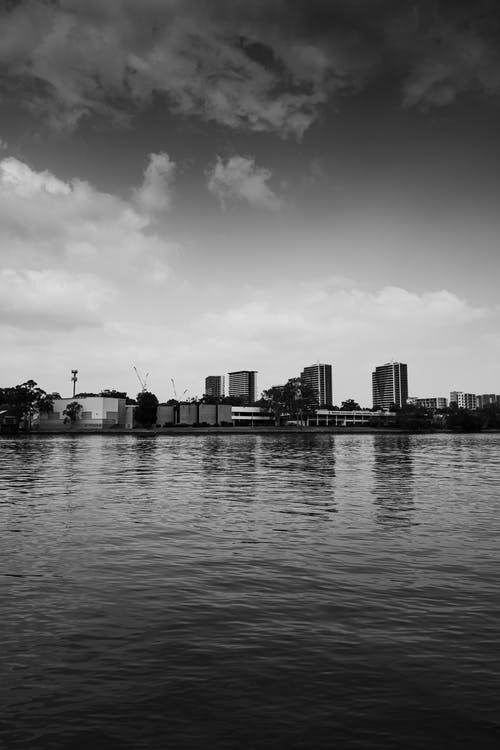 Fotos de stock gratuitas de agua Azul, minimalismo, paisaje de ciudad