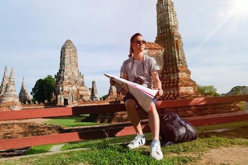 Základová fotografie zdarma na téma batoh, chrám, idylický, ležérní