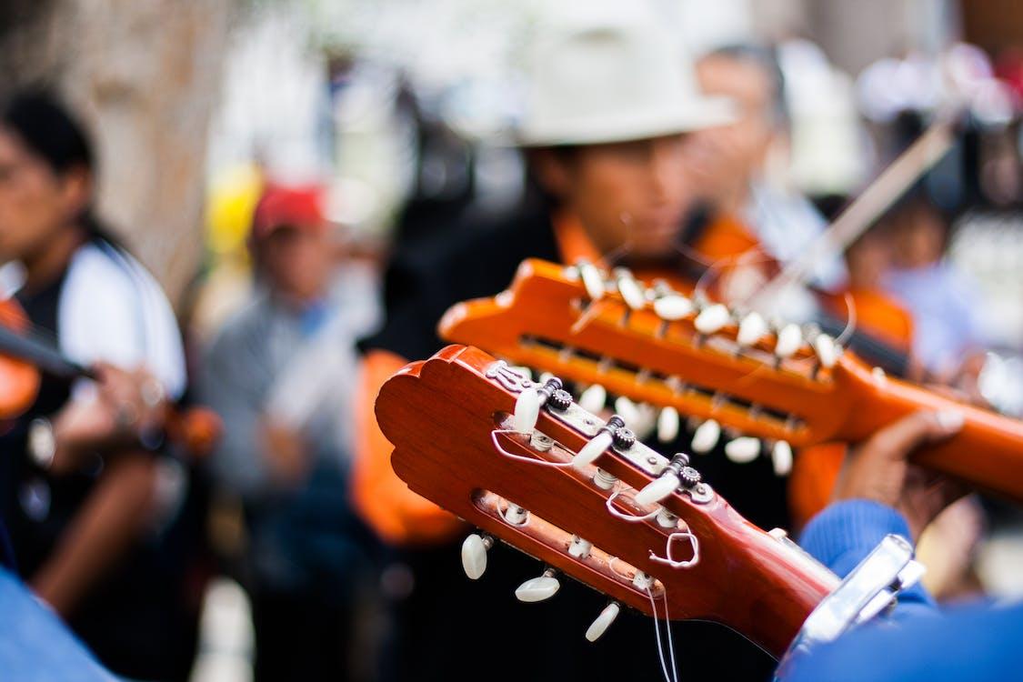 人群, 吉他, 吉他手