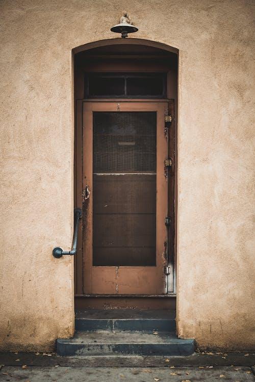 エントランス, ドア, 壁, 戸口の無料の写真素材