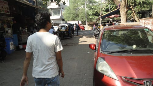 Foto stok gratis berjalan, India, jalan