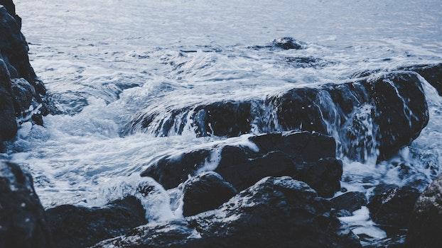 Free stock photo of cold, sea, landscape, nature