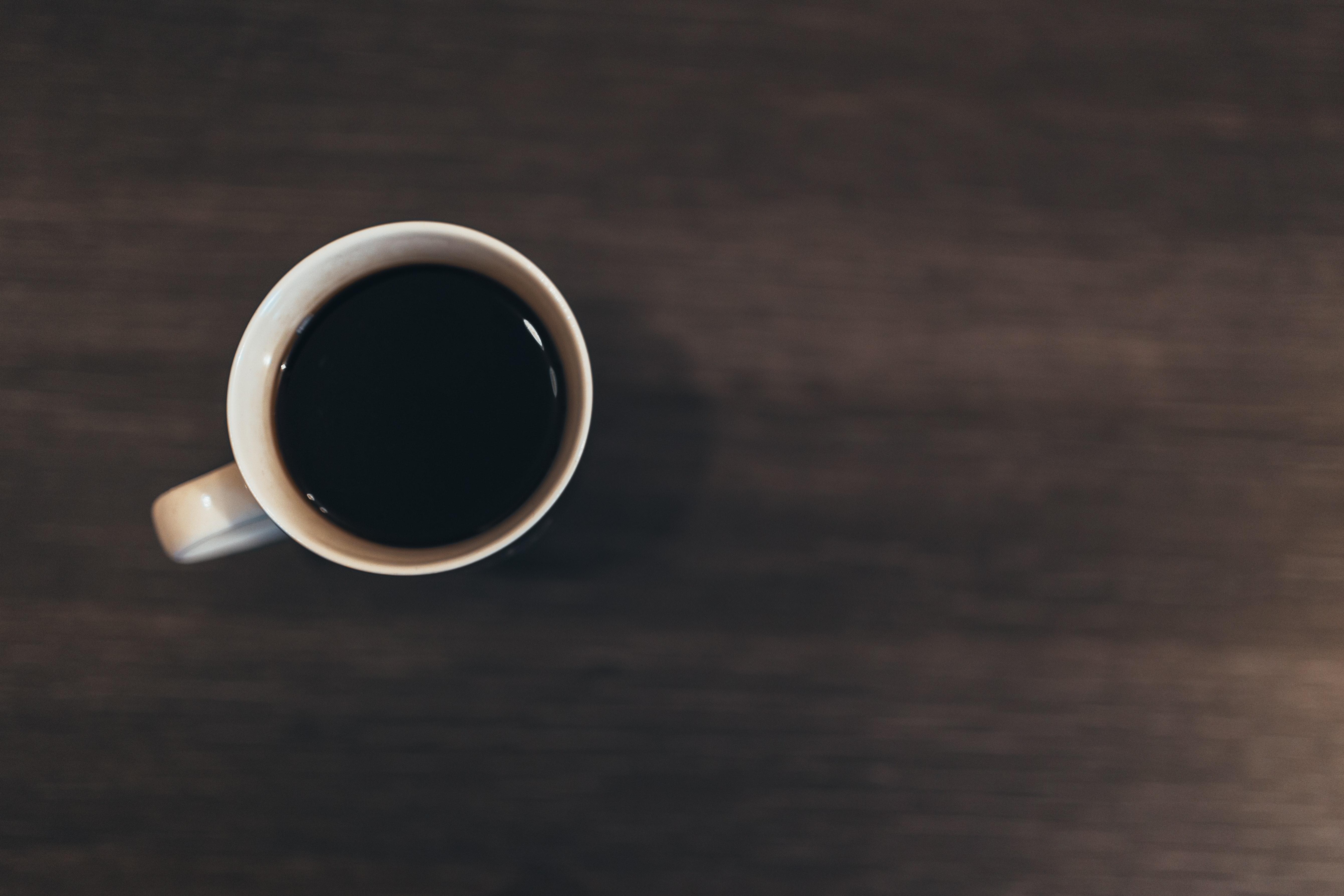 en kaffekopp koffein