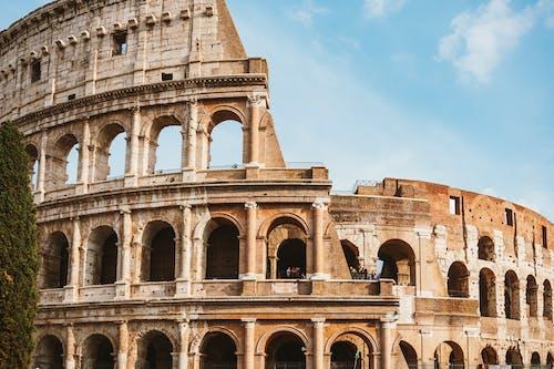 Fotos de stock gratuitas de arcos, arquitectura, atracción turística, cielo