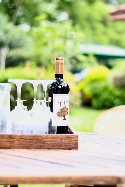 Gratis stockfoto met rode wijn