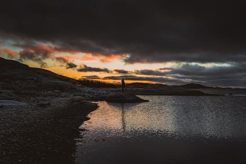Photos gratuites de aube, cailloux, calme, ciel