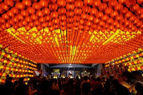 คลังภาพถ่ายฟรี ของ โคมไฟจีน