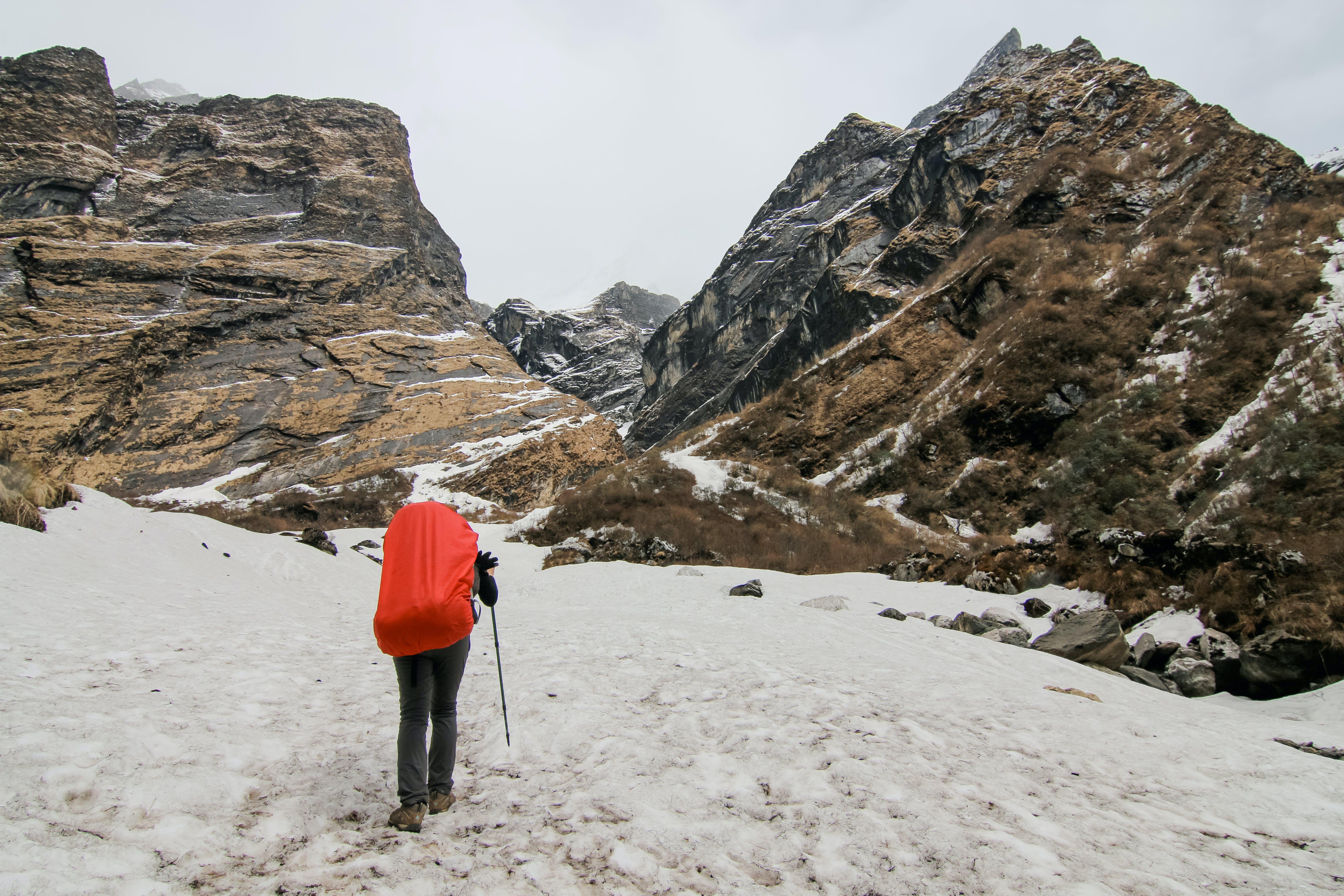 Δωρεάν στοκ φωτογραφιών με backpacker, trekking, άνθρωπος, βουνό