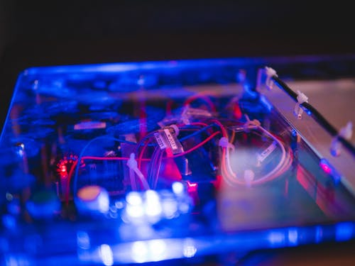 Foto d'estoc gratuïta de alta tecnologia, cables, controlador, il·luminar