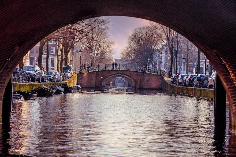 amsterdam, arch, arch bridge