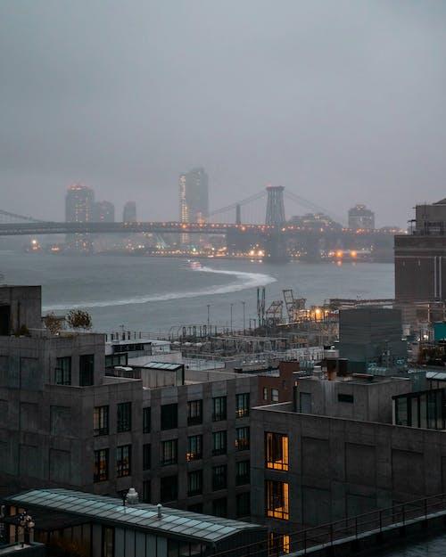 Darmowe zdjęcie z galerii z biznes, budynki, chmury, fotografia plenerowa