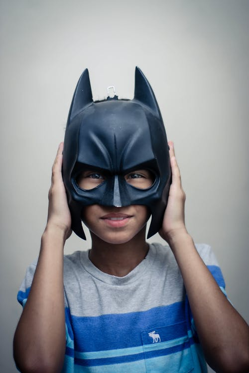 Photo Of Boy Wearing Black Mask