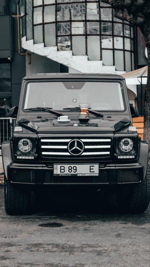 Black Mercedes Benz G Class Suv