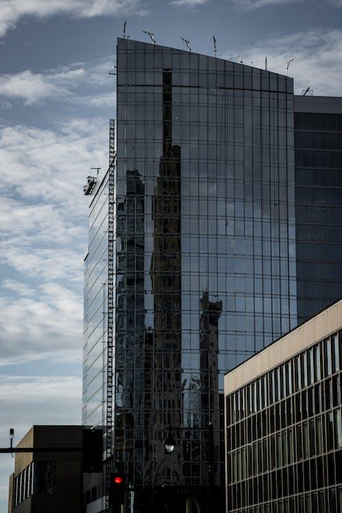 反射, 城市, 工作, 工程 的 免费素材照片