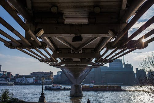 Kostnadsfri bild av båt, bro, flodstrand, london
