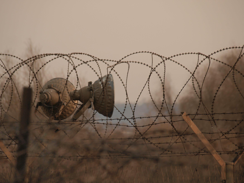 Gratis lagerfoto af jern hegn, pigtråd