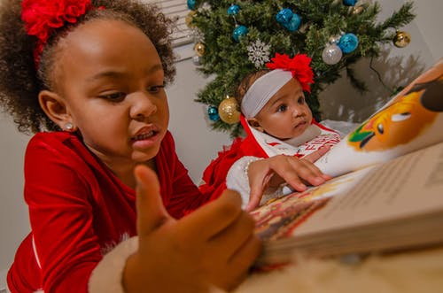 Free stock photo of african american girl, reading, reading book