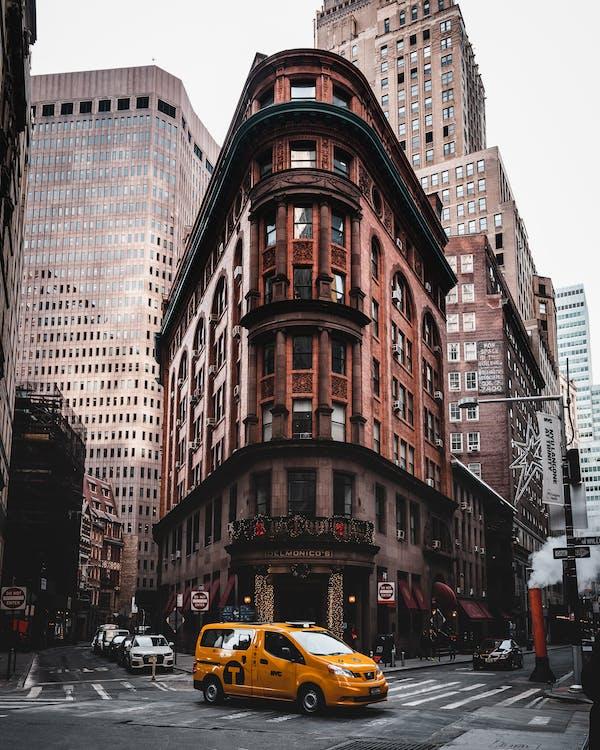 автомобили, архитектура, город