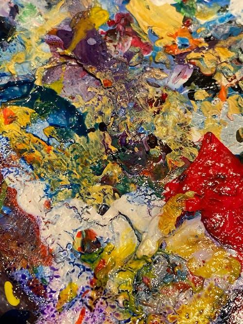 Foto stok gratis abstrak, acrylic, akrilik, artistik