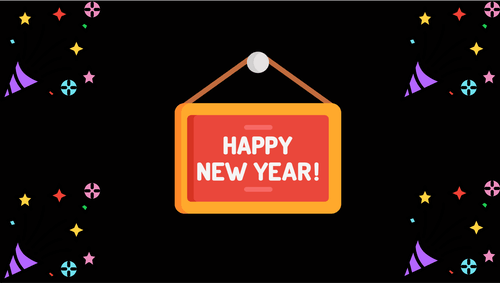 Free stock photo of happy new year