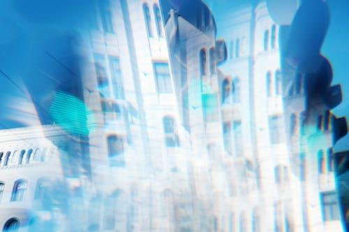 Photos gratuites de 35mm, bâtiment, bleu