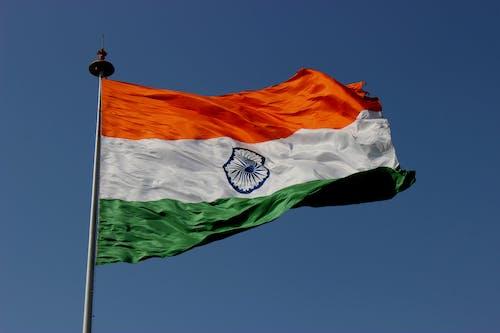 Gratis lagerfoto af banner, blå himmel, dagslys, demokrati