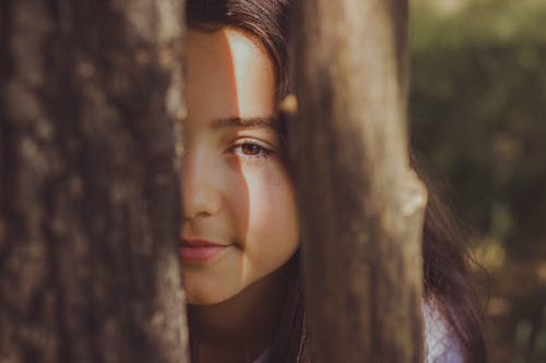 Selective Focus Photo of Girl's Face
