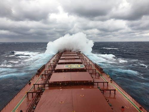 Fotos de stock gratuitas de nubes de lluvia, nubes pesadas, Oceano, pesado