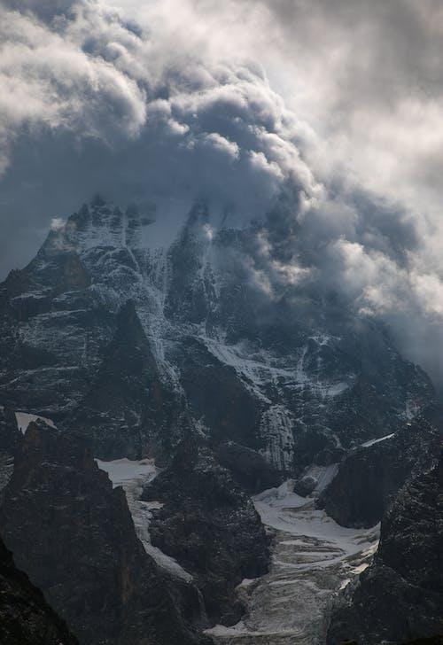 Základová fotografie zdarma na téma bouře, mt.ushba