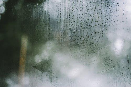 Mist On Glass Window