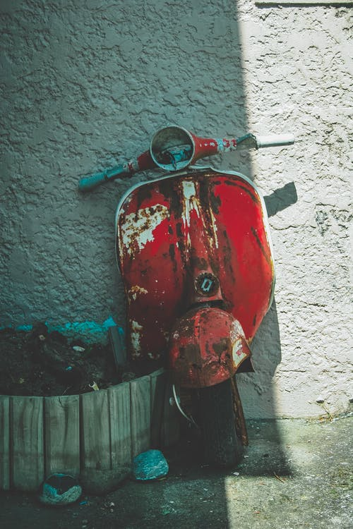 Free stock photo of abandon, abandoned, bike, broken
