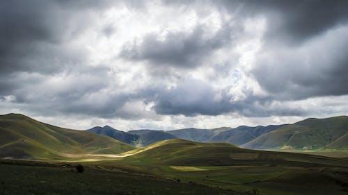 夏天, 天性, 天空, 山丘 的 免費圖庫相片