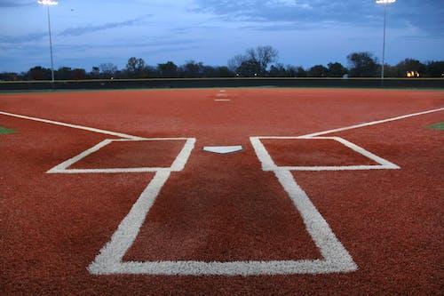 Free stock photo of baseball, baseball field, softball