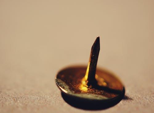 Closeup Photography of Thumb Tack