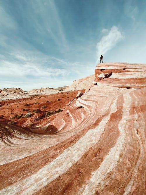 Foto d'estoc gratuïta de a l'aire lliure, àrid, aventura, barranc
