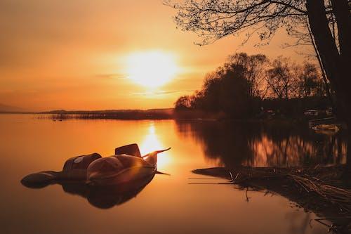Gratis arkivbilde med båt, farger, fartøy, gylden time
