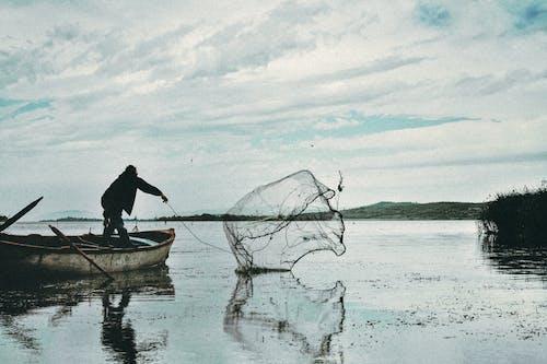 Imagine de stoc gratuită din acțiune, ambarcațiune, apă, barcă