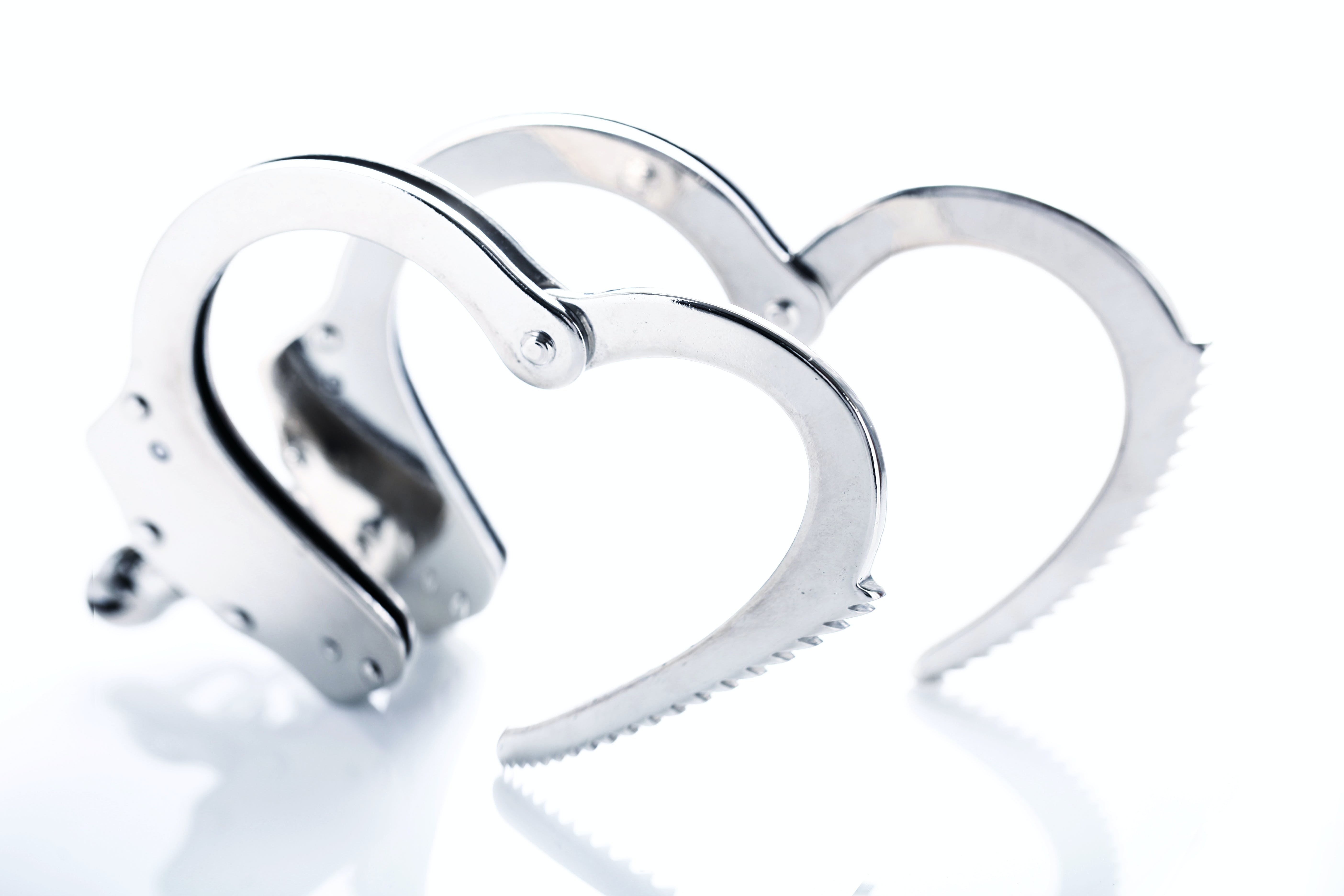 Free stock photo of love, heart, metal, police
