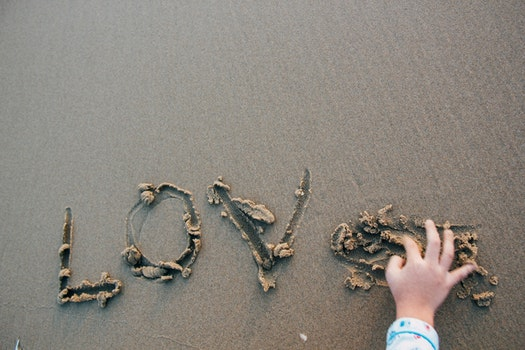 Free stock photo of handwritten, nature, hand, seashore