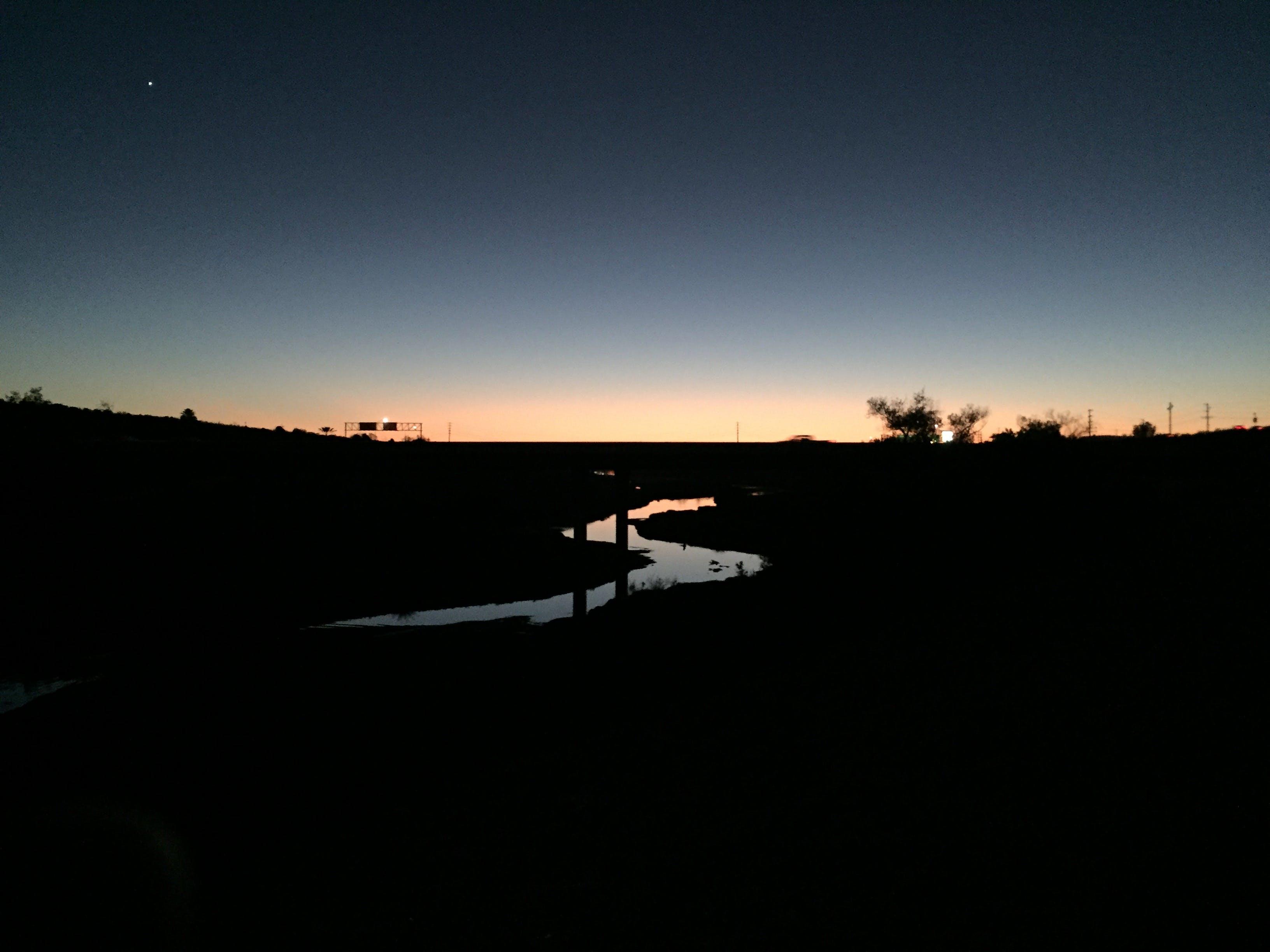 Free stock photo of dawn, grey sky, north star, paradise