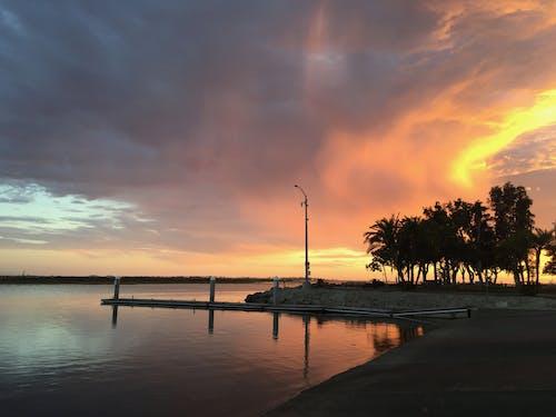 Kostnadsfri bild av clouds, havsområde, kvällshimmel, moder natur
