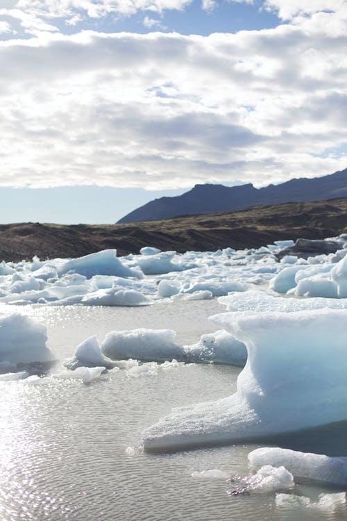 太陽, 水, 氷山