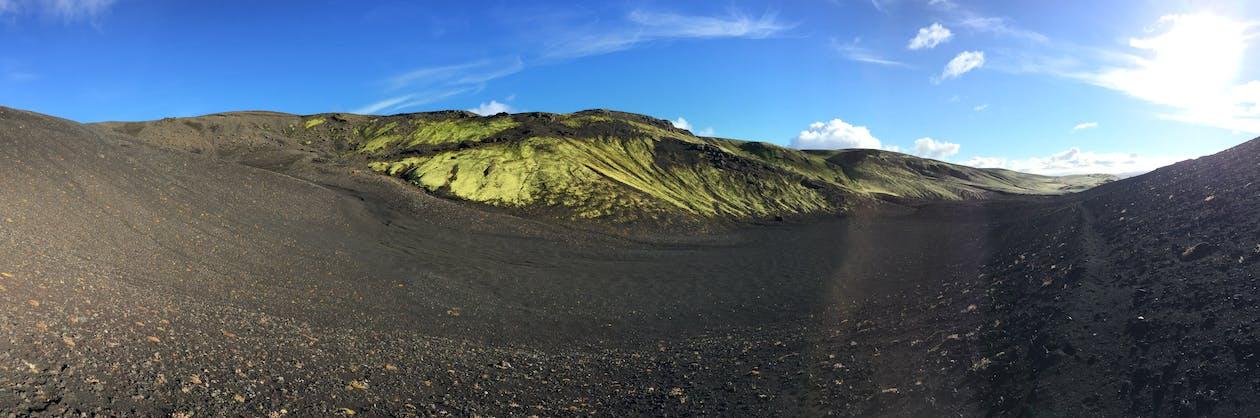 Island, landskab, panoramaudsigt
