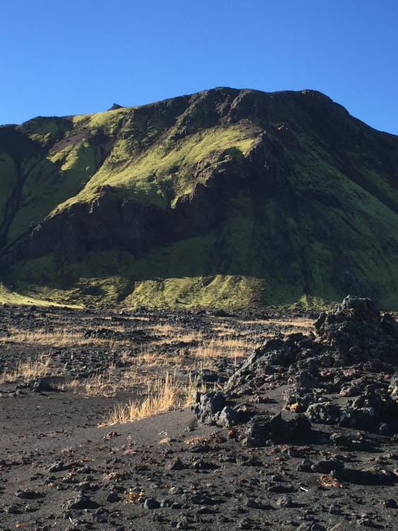 islanti, montain, vihreä