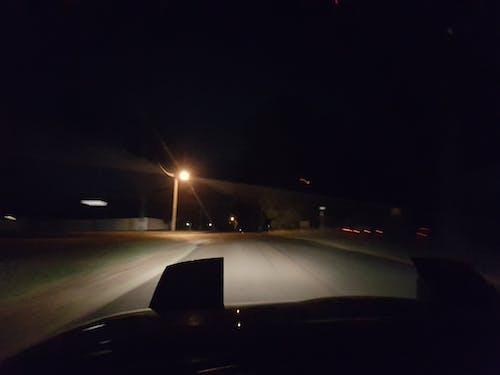 Free stock photo of car, drive, headlights