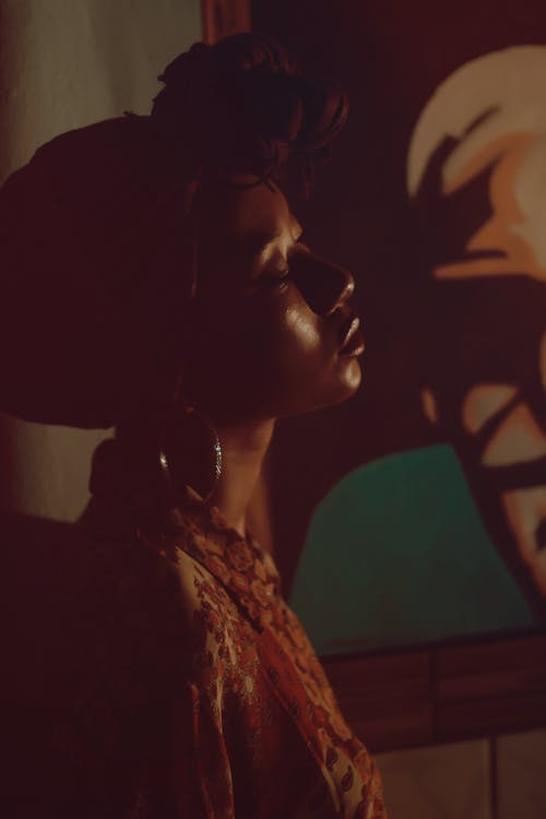 Free stock photo of african girl, bright lights
